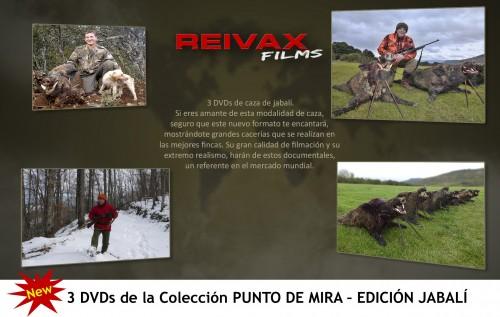 REIVAX FILMS - PUNTO DE MIRA - EDICION JABALI